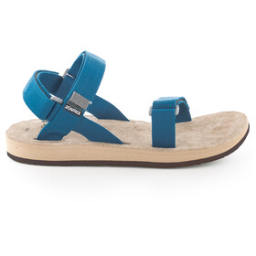 SOURCE Leather Urban Sandals Men, ocean/gray